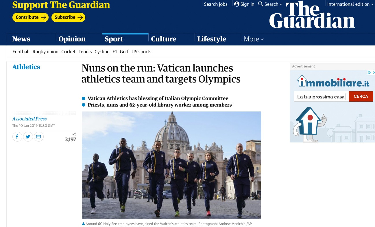 The Guardian - 10 Janvier 2019