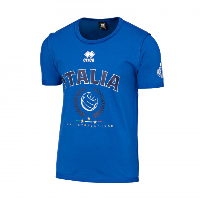 NAZ. ITALIA VOLLEY T-SHIRT ITALIA MC JR  - ERREÀ