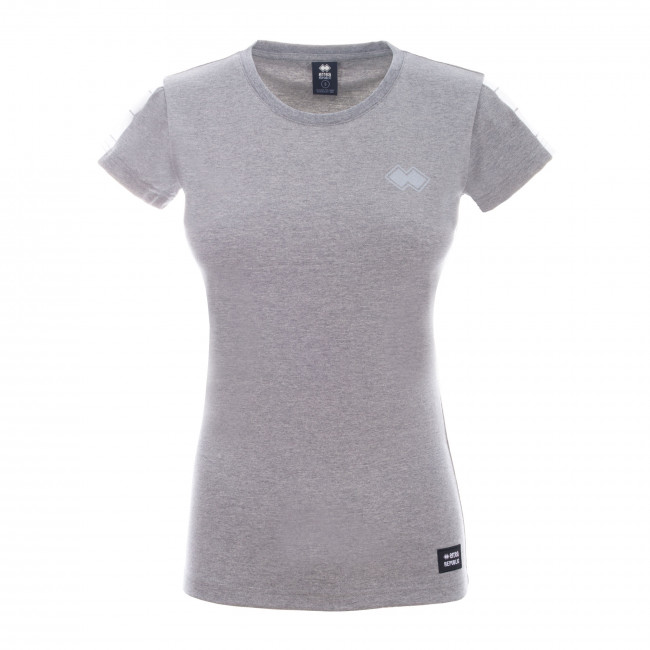 SPORT INSPIRED FW20/21 WOMAN T-SHIRT 005 MC AD ANTRACITE_MELANGE - REPUBLIC