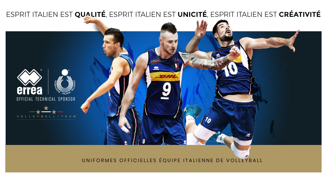 Fed.Italiana Pallavolo - Official technical sponsor
